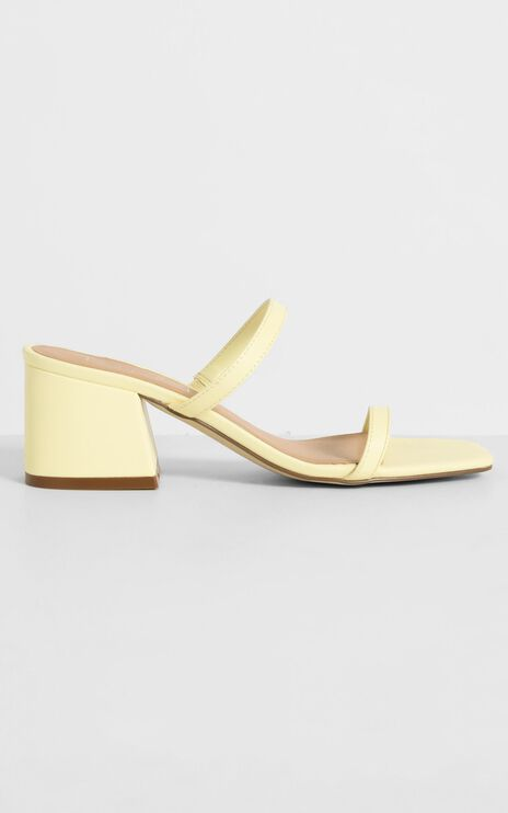 Therapy - Goldie Heels in Pastel Yellow