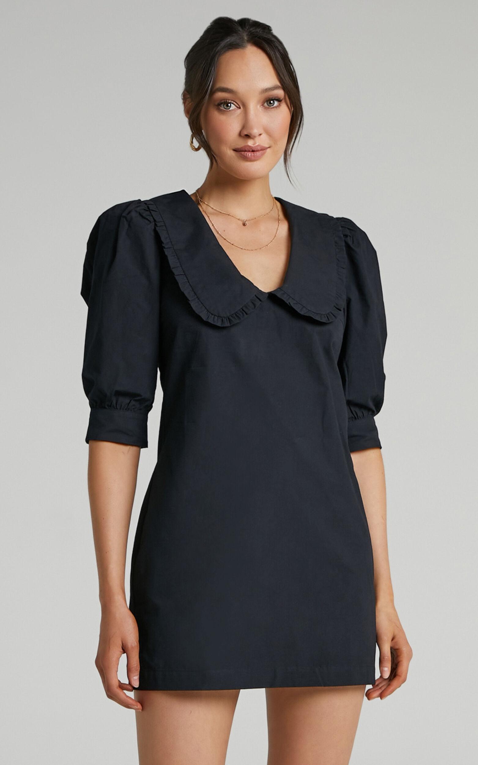 Amaria Dress in Black - 06, BLK1, super-hi-res image number null