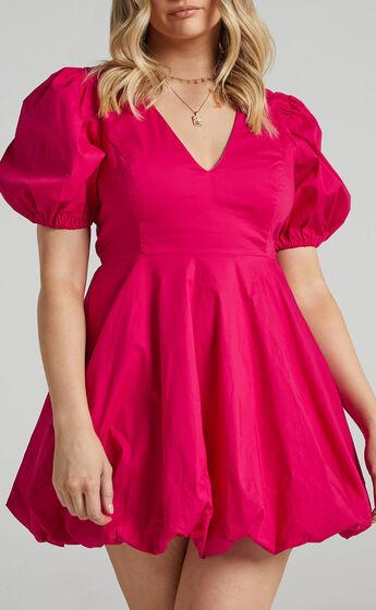 Ebrill Dress in Berry