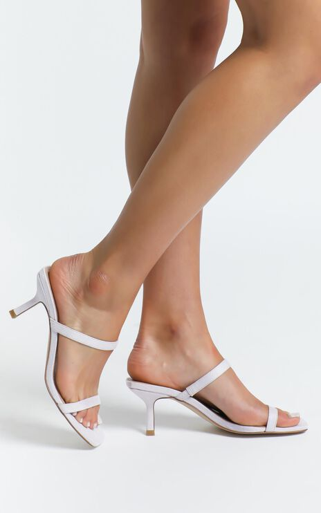 Therapy - Poppin Heels in Lilac Suedette