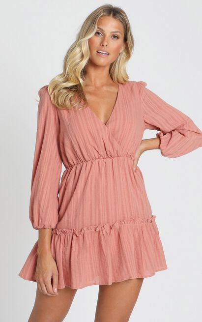 Fountain City Dress in blush - 20 (XXXXL), Blush, hi-res image number null