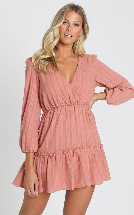 Fountain City Dress In Blush