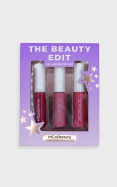 McoBeauty x Tayla Damir - 3 Pack Lip Lacquer in Pinks