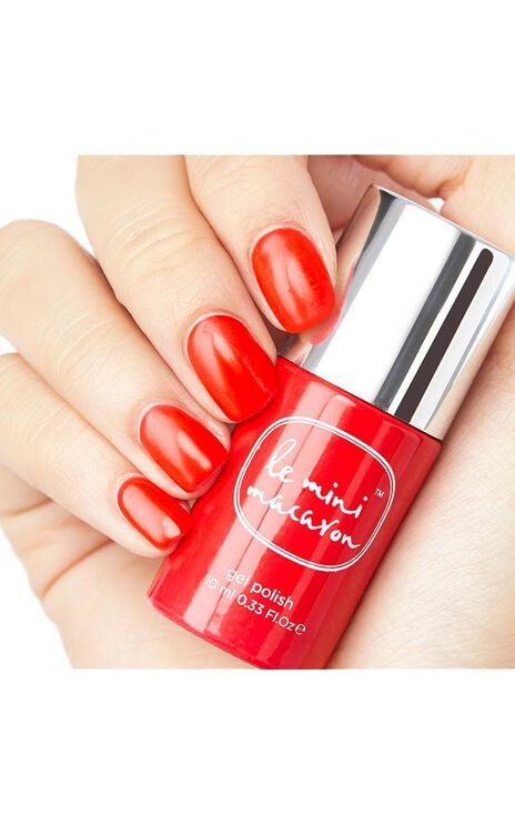Le Mini Macaron - Gel Manicure Kit in Cherry Red