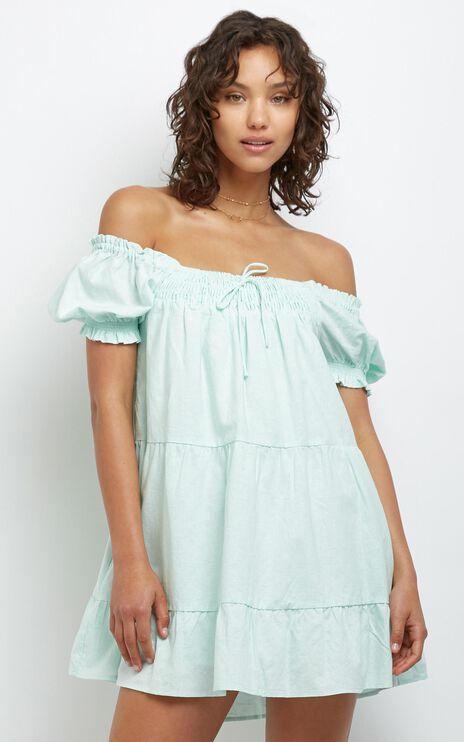 Spring Creek Dress in Mint