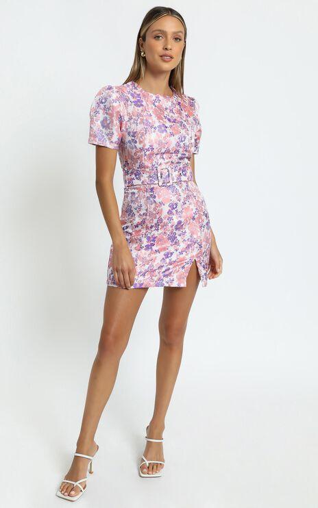 Kalene Dress in Multi Floral