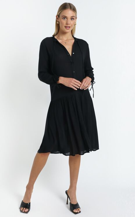 Jensen Dress in Black