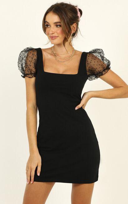 Inner Wild Child Dress in black - 20 (XXXXL), Black, hi-res image number null