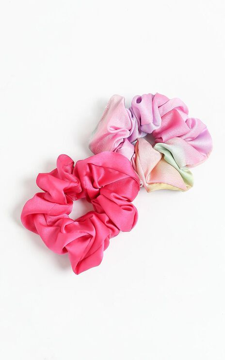 Marble Scrunchie 2 Pack