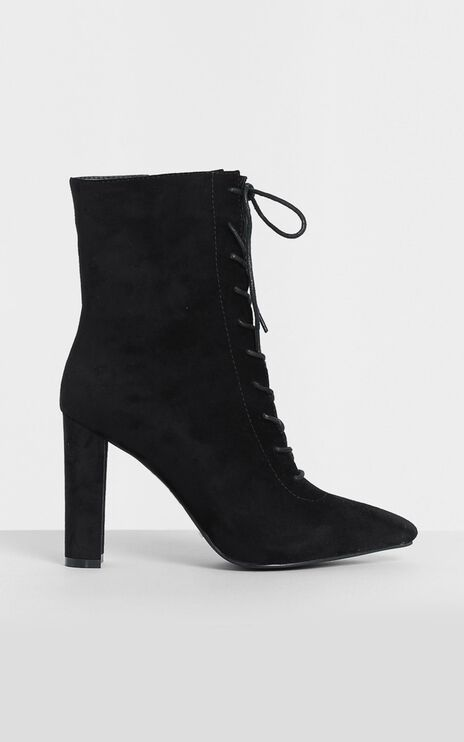 Billini - Kassia Boots in Black Micro