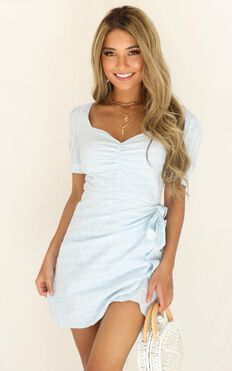 Special Mention Dress In Blue