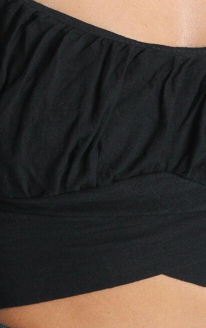 Aleksis Longsleeve Top in Black - 6 (XS), Black, hi-res image number null