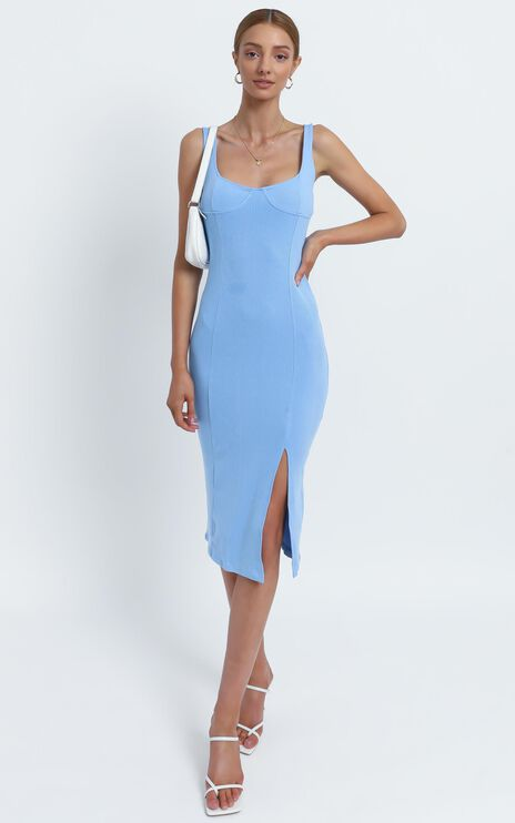 Bliss Dress in Blue