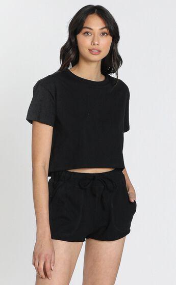 Cloud Nine Shorts in Black