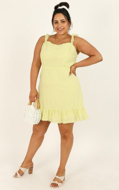 Ocean Road Dress In citrus