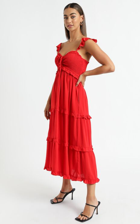 Good For The Soul Dress in Red