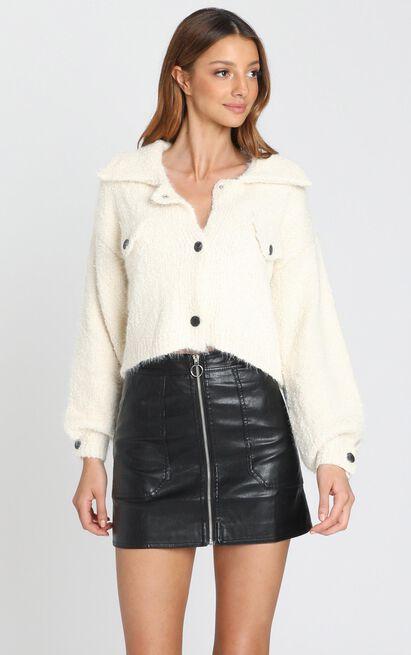 Colorado Jacket in Cream - S/M, Cream, hi-res image number null