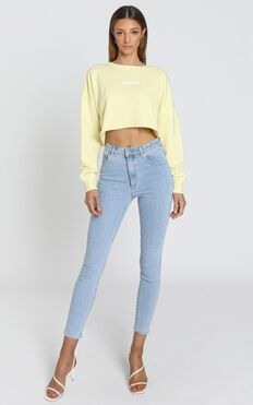 Abrand - A High Skinny Ankle Basher Jeans in Walk Away