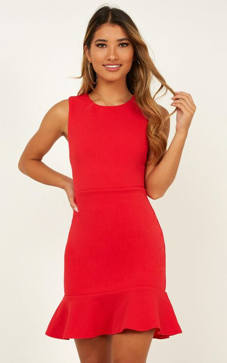 Obey Me Dress In Red