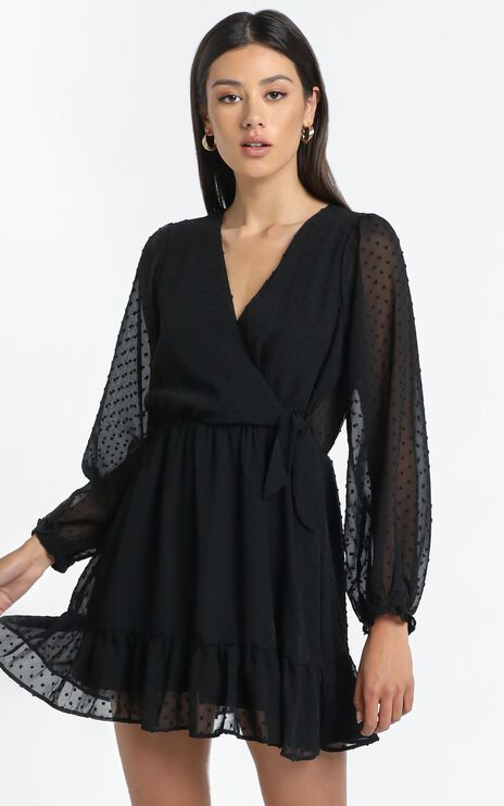 Vermont Dress in Black