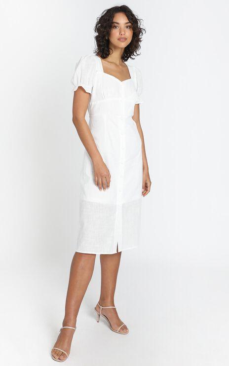 Myra Dress in White