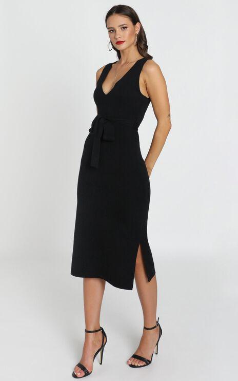 Good Publicity Dress In Black