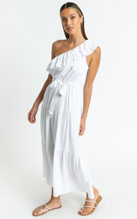 Mimosa Dress in White