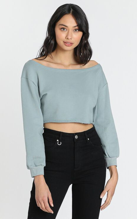 Dreamers Top in Sage