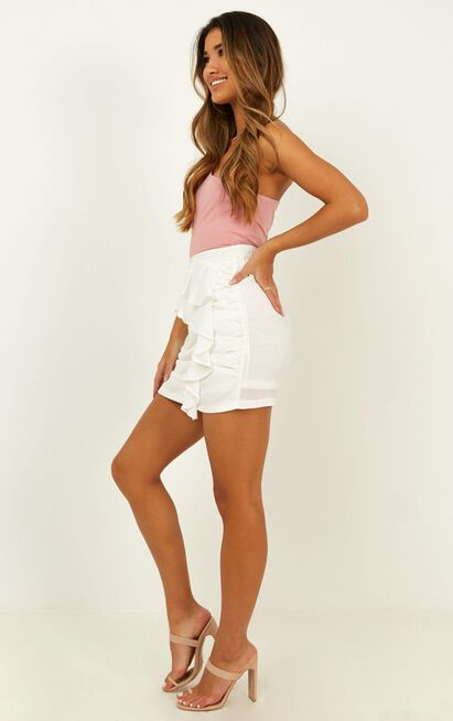 Back To Love skirt in white - 12 (L), White, hi-res image number null