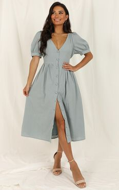 Free Therapy Dress In Sage