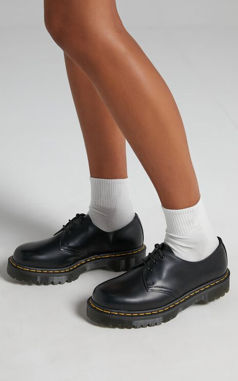 Dr. Martens - 1461 3 Eye Shoe in Black Smooth