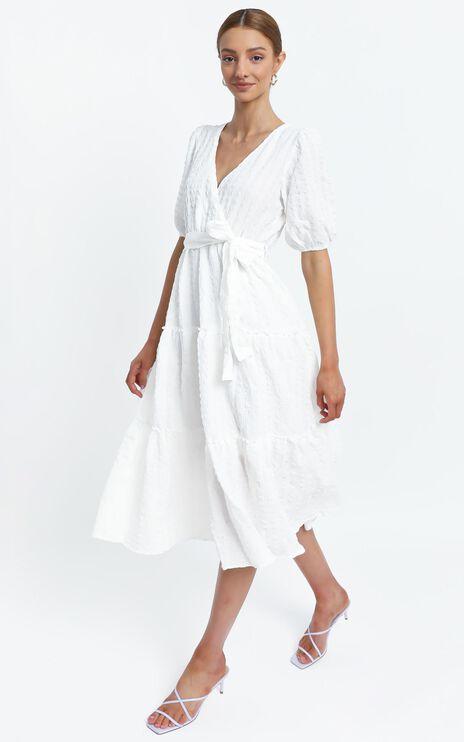 Sianna Dress in White