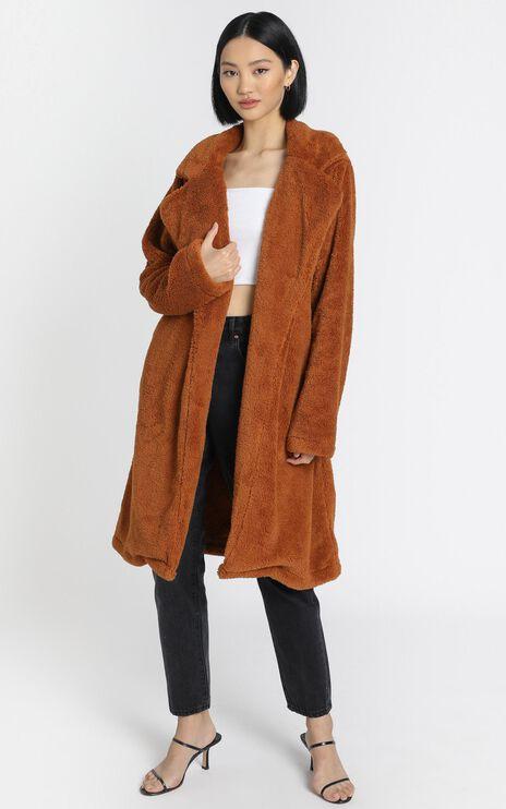 Adairia Coat in Camel
