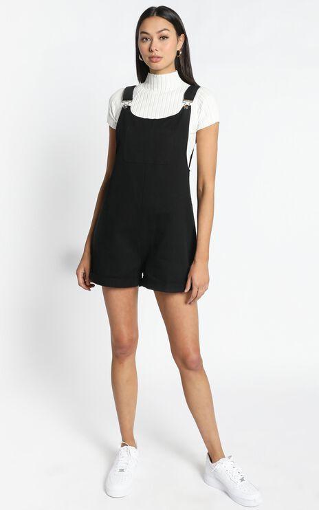 Mya Playsuit in Black