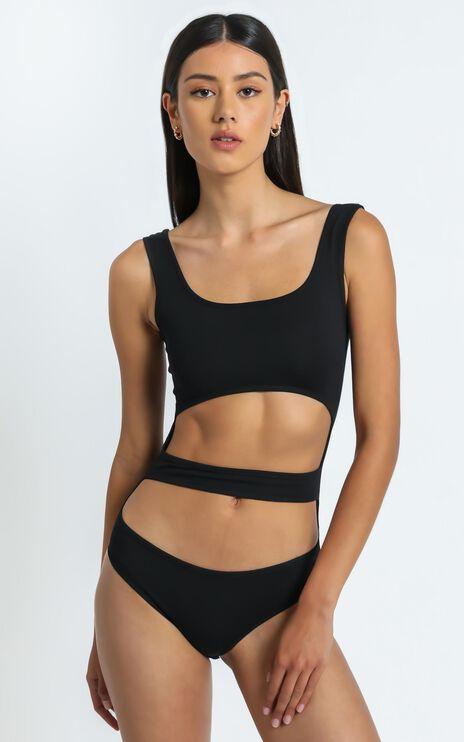Elisa Bodysuit in Black