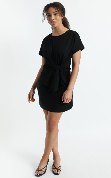 State Of The Art Dress In Black