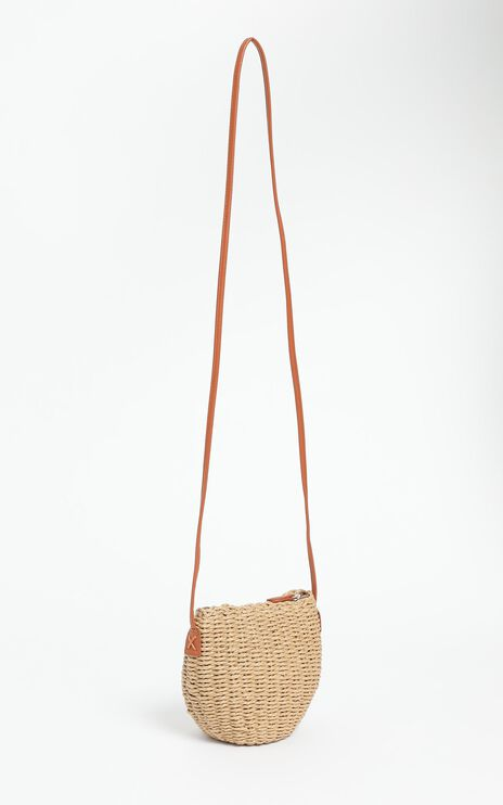 Valente Bag in Brown Straw