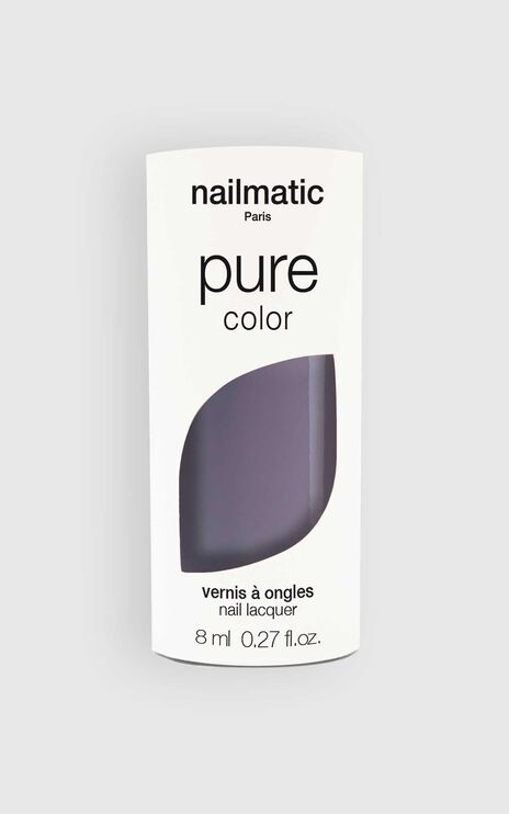 Nailmatic - Pure Color Ayoko Nail Polish in Slate Grey