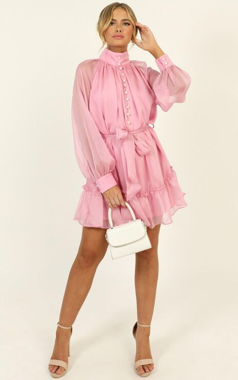 Whitney Dress In Pink