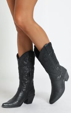 Therapy - Clayton Boots In Black