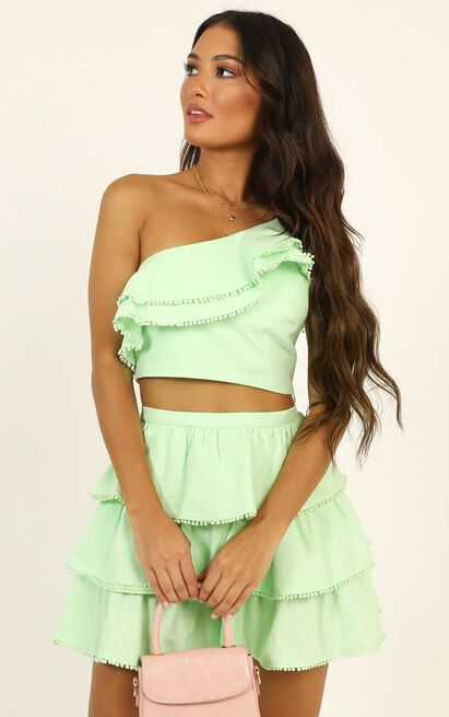 Rooftop Spritz Two Piece Set in mint - 20 (XXXXL), Green, hi-res image number null