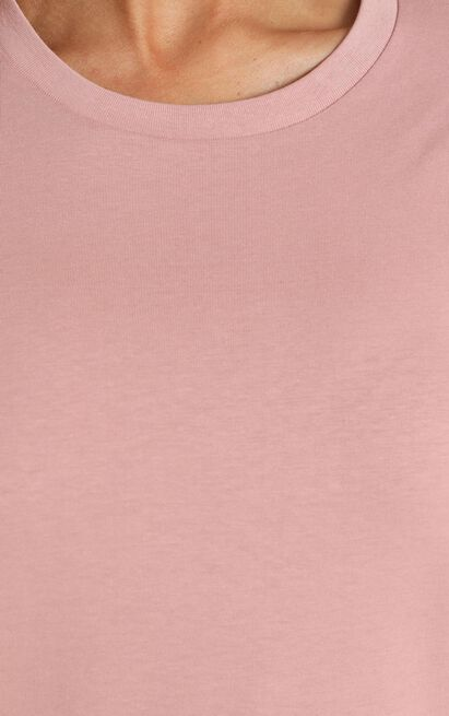 AS Colour - Maple Tee in Rose - 6 (XS), Pink, hi-res image number null