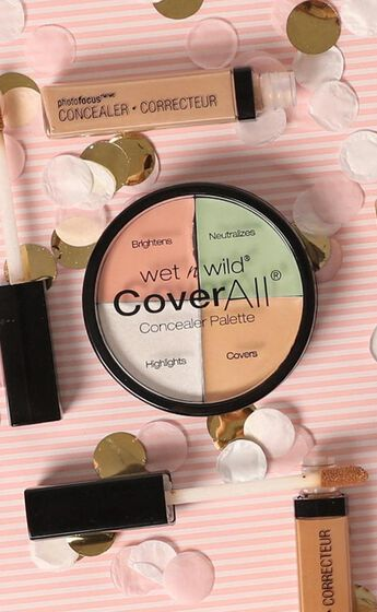 Wet N Wild - CoverAll Concealer Palette in Multi