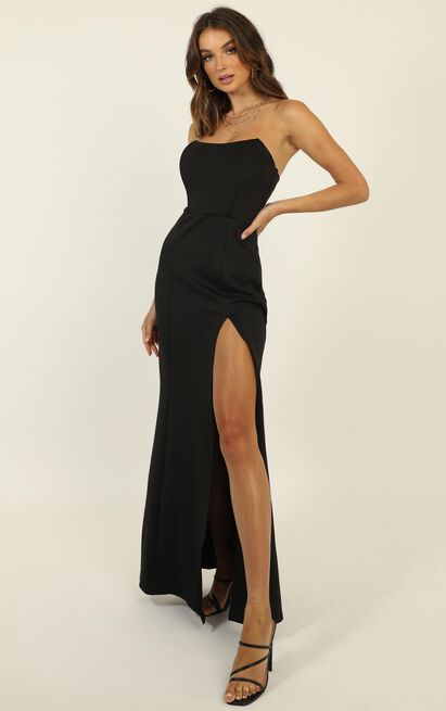 How Could This Be Dress in black - 20 (XXXXL), Black, hi-res image number null