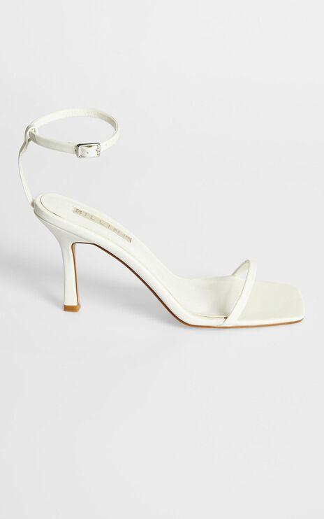 Billini - Salsa Heels in White