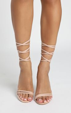 Billini - Tessa Heels In Blush Micro