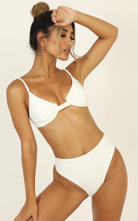 Zoe Bikini Set In White