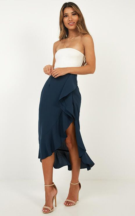 There She Goes Again Skirt In Navy