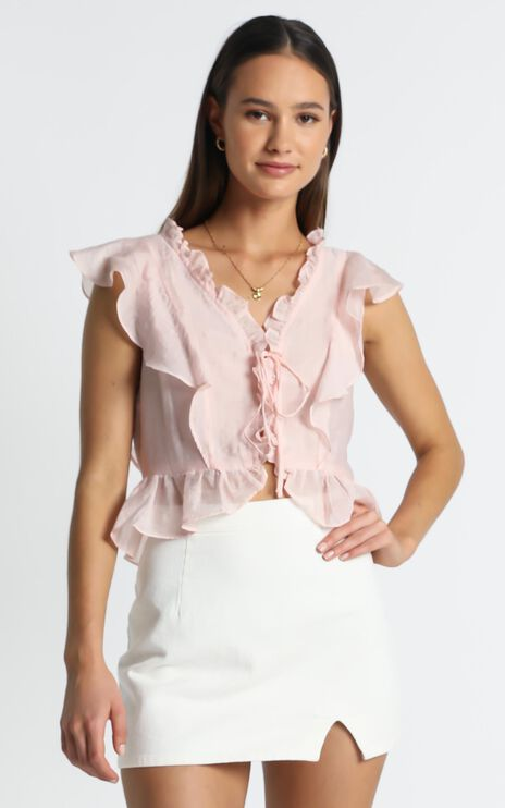 Shanice Top in Pink