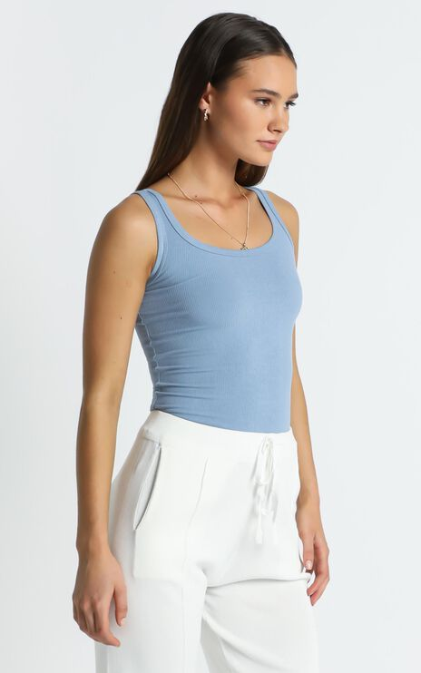 Aldred Top in Blue